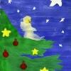 Різдвяний Янгол, автор Маргарита Литовченко, 6 років