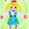 Лялька Ліза, автор Лєра Василенко, 5,5 років